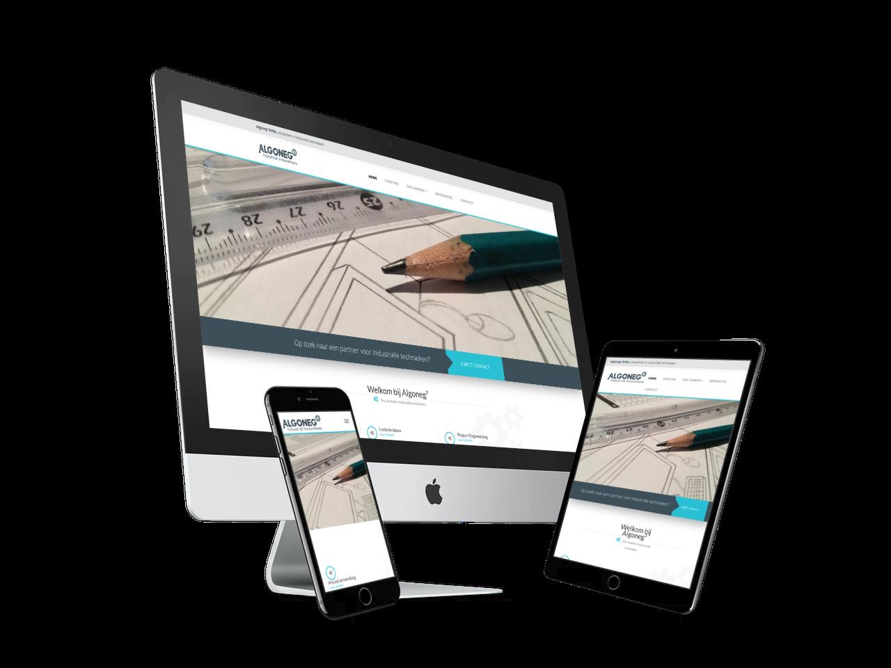 Website en huisstijl ontwerp Algoneg | Blok56 Weert