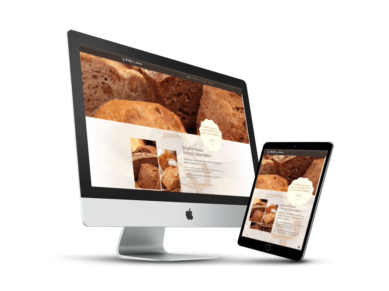Website ontwerp Bakkerij Johan | Blok56 Weert