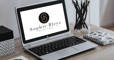 Logo ontwerp, visitekaartjes en Landingspagina | Architect Sophie Bleys