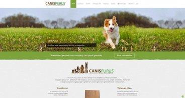 Verpakkingen ontwikkeling, fotografie, webshop |  Canispurus, gezonde natuurvoeding met passie gemaakt