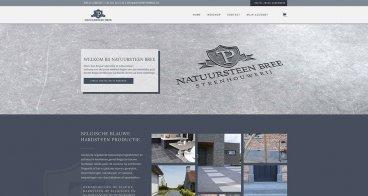 Logo, huisstijl en webshop | Natuursteen Bree