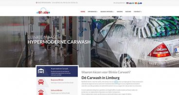 Website en fotografie Blinkie | Carwash Maaseik