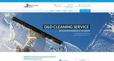 Website D&D Cleaning | Schoonmaakbedrijf Weert
