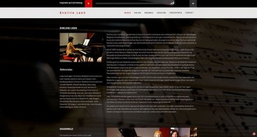 Website Eveline Leen | Composer, pianist & teacher