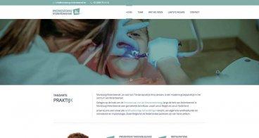 Logo, huisstijl, website | Mondzorg Molenbeersel, tandartsenpraktijk