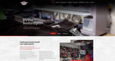 Website My Way | Borduringen op maat