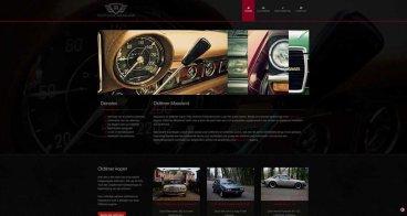 Logo, huisstijl en webdesign | Oldtimer Maasland