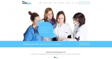 Logo, Huisstijl en Website Wondzorgcentrum | Specialisten in complexe wondzorg