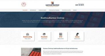 Logo, huisstijl en webdesign | Kantoor Zontrop, boekhoudkantoor