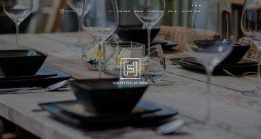 Logo, huisstijl, webshop |  Hoamy, woningdecoratie
