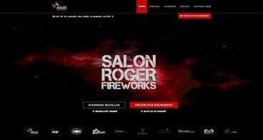 Webshop, grafisch ontwerp vuurwerkverpakkingen | Salon Roger Fireworks