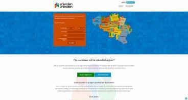Logo en webdesign |  Vrienden-voor-Vrienden, online community