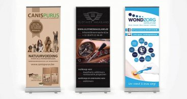 Roll-up banner ontwerp
