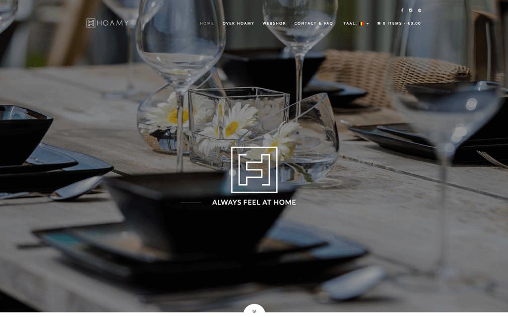 Logo, huisstijl en webshop ontwerp