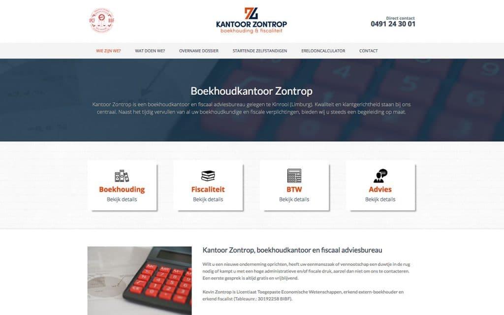 Logo, huisstijl en website ontwerp