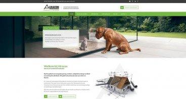 Huisstijl, belletering en webdesign | Alracon Ramen en Deuren