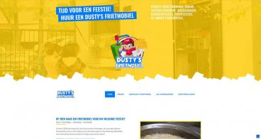 Responsive website | Dusty's Frietmobiel