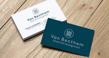 Logo ontwerp, ontwerp & drukwerk visitekaartjes | Van Benthem