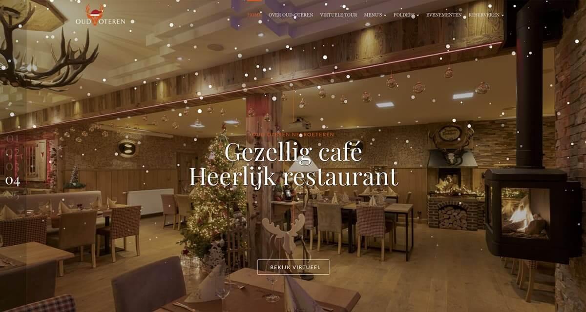 Fotografie, Virtuele Tour & website ontwikkeling | Restaurant Oud Oteren