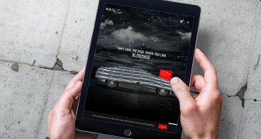Ontwerp webshop, verpakking, brochure & flyer | HailSuit Eindhoven