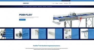 Logo, webshop, productfotografie en brochure | Posi-flex