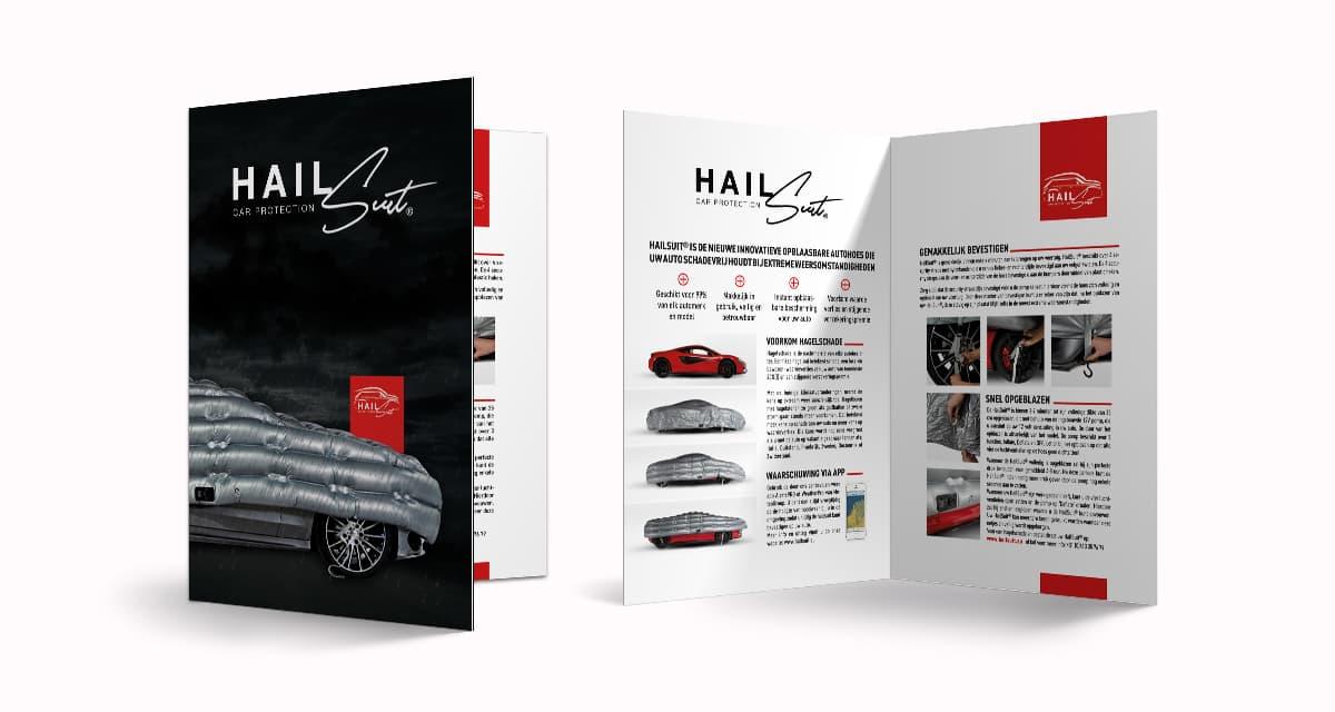 Ontwerp en drukwerk van brochure en flyers | HailSuit Eindhoven