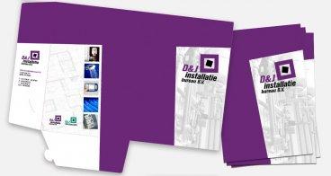 Presentatiemap ontwerp en drukwerk