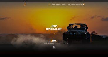 Webshop en fotografie | 4Low, Jeep specialist