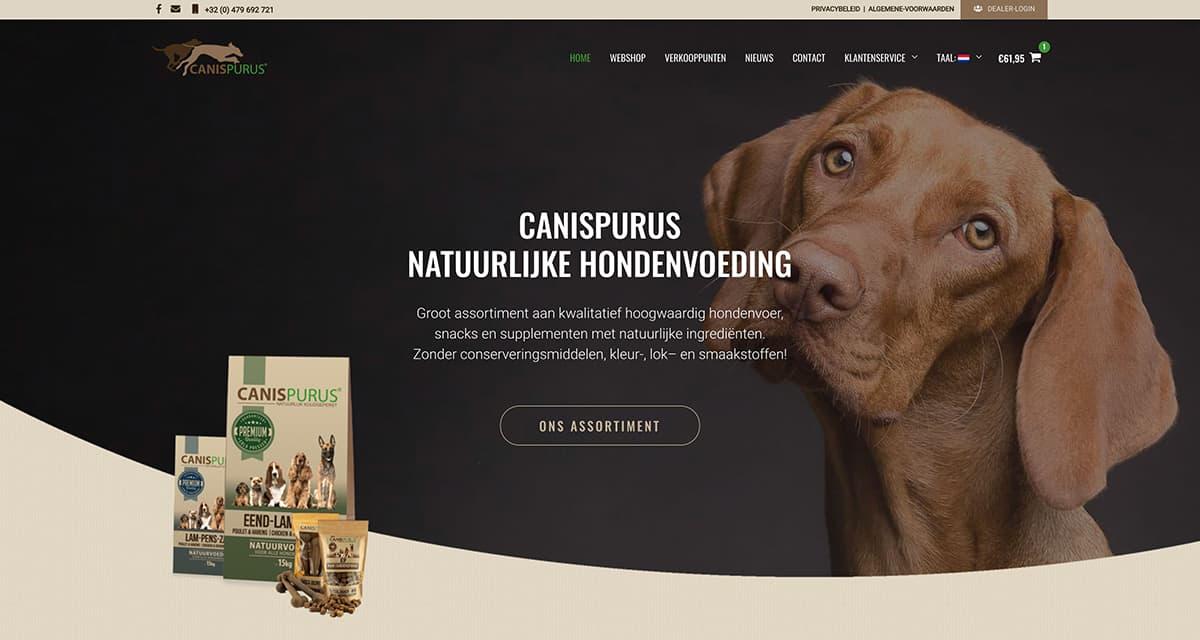 Totaalproject CanisPurus | Natuurvoeding voor honden