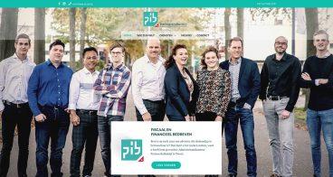 Website, visitekaartjes & brochure | Administratiekantoor PartnersInBedrijf