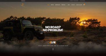 Webshop & fotografie | 4Low - Specialist in Jeep onderdelen