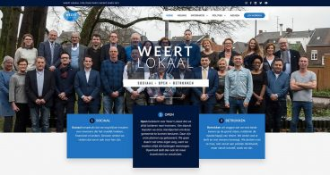 Website Weert Lokaal