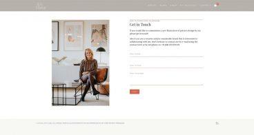 Webshop Lisa Bekelaar