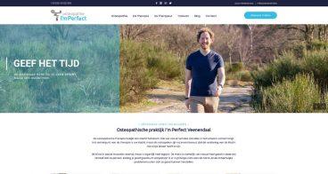 Logo, huisstijl en webdesign | Osteopaat I'mPerfect