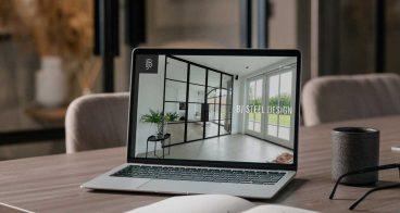Totaalproject BJ Steel Design | Logo, huisstijl en website