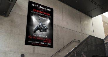 Poster en Flyer ontwerp en drukwerk