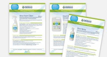 Productsheet ontwerp en drukwerk