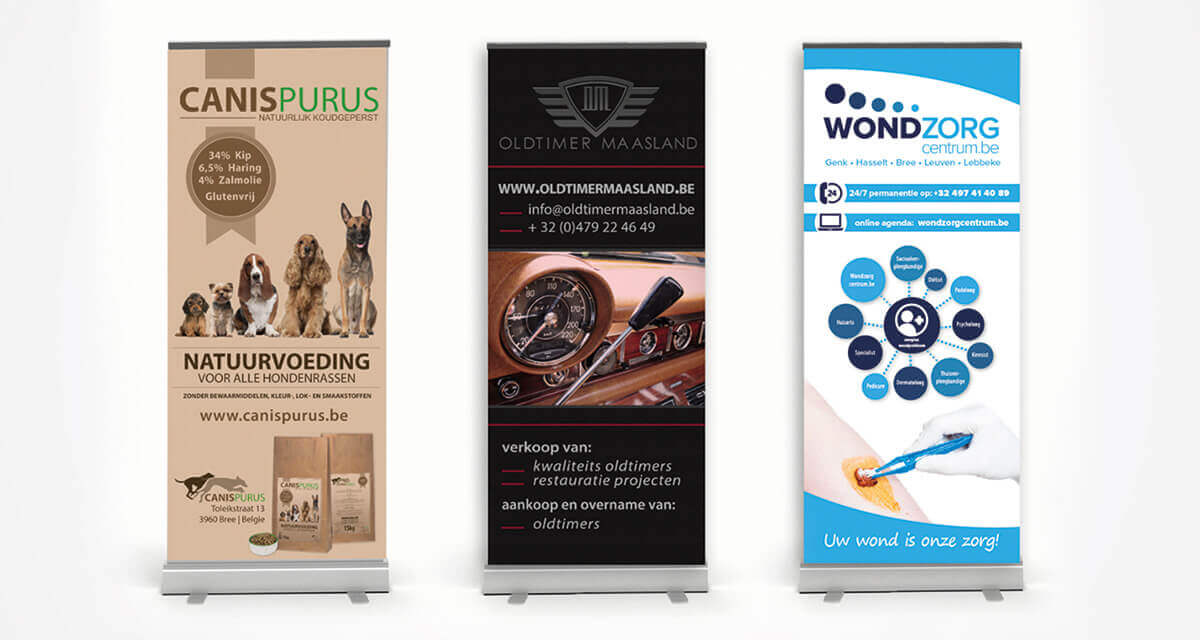 Printen Roll-up banners